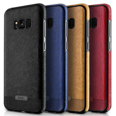 Luxury Ultra-thin PU Leather TPU Back Skin Case Cover For Samsung Galaxy S8 Plus