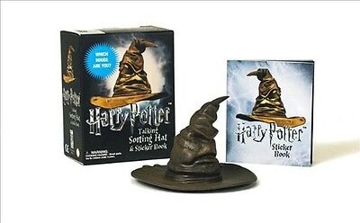 Harry Potter Talking Sorting Hat and Sticker Book by Running Press Book & Mercha
