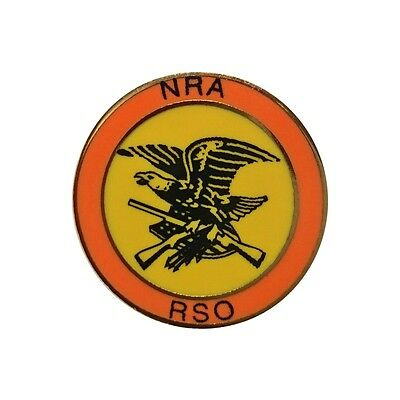 NRA Range Safety Officer Lapel Pin National Rifle Association Tie Tack DTOM RSO