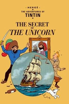 The Secret of the Unicorn by Herge Paperback Book