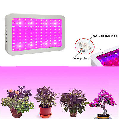 600/1000/1200W LED Grow Light Full Spectrum IR UV Veg Flower Indoor Plant Panel