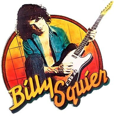 """""""Billy Squier"""" Adult Tee Shirts"""