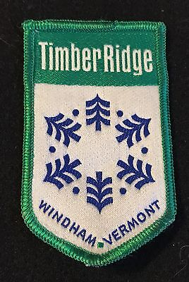 TIMBER RIDGE Lost Area 1964-1991 NOS Skiing Ski Patch Windham VERMONT VT Travel