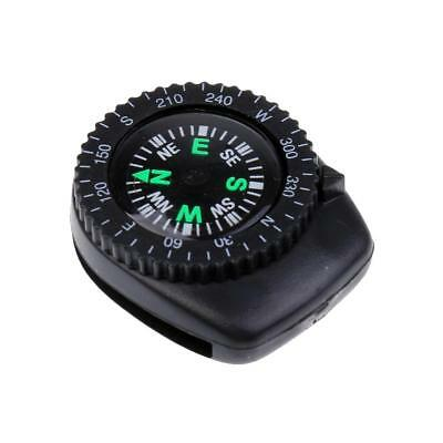 25mm Mini Precision Watch Band Clip-on Navigation Wrist Compass for Survival