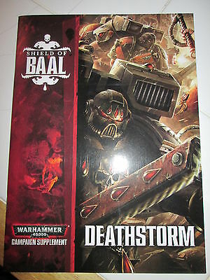 Warhammer 40k Death storm Booklet with formations
