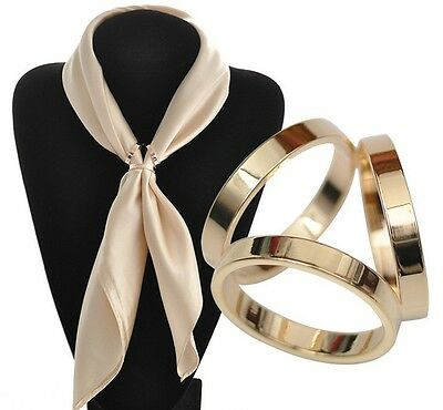 Fashion Women's Alloy Shawl Buckle Brooch Pin Scarf Clip Ring Jewelry Gift