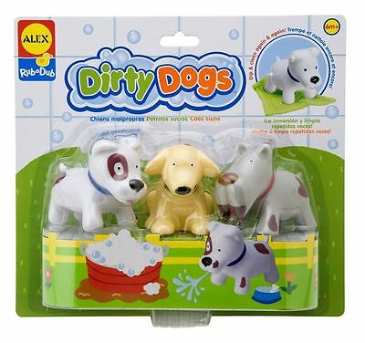 Alex Dirty Dogs Fun Bath Colour Changing Activity Toddler Toy New