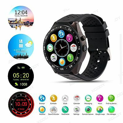 KW88 KW98 OLED Bluetooth Smartwatch 8GB Handy 3G Uhr Android 5.1 Armbanduhr WIFI