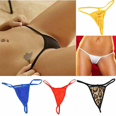 Women Thongs Underwear Knickers Panties Ladies G-string Lingerie One Size