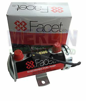 12V Facet 480532 Red Top Competition Fuel Pump Rally Stock 200+ Plus Bhp