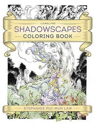 Llewellyn's Shadowscapes Coloring Book by Stephanie Pui Law Paperback Book (Engl