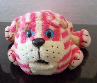 Official Postgate 1999 Bagpuss the Cat Soft Plush Beanie Toy 22cm Nose to Tail