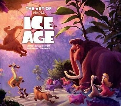 The Art of Ice Age by Tara Bennett Hardcover Book (English)