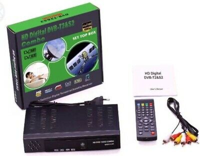 Zs- DVB-S/S2+T/T2 satellitare +digitale terrestre combo full hd digital dvb t2 e
