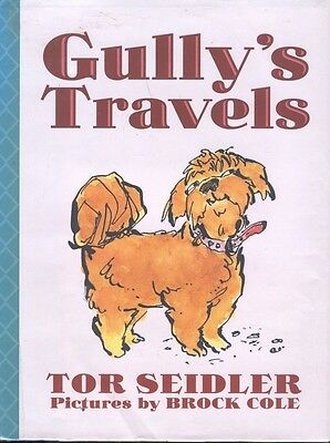 Gully's Travels Lhasa Apso Dog Story Book Tor Seidler Hardcover Dust Jacket 1 ed