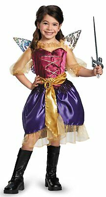 Kids Gold Pirate Fairy Tinkerbell Tink/'s Costume Accessory Rapier Sword
