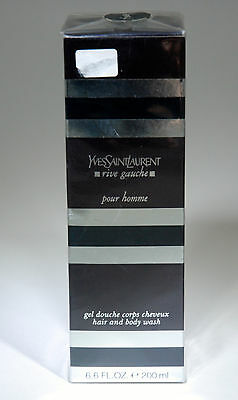 Ysl Rive Gauche Pour Homme Hair And Body Wash 200 Ml Old Formula