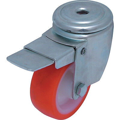 Atlas Workholders 100Mm B/H Swivel Castor(S/S)P/N Wl/Brake