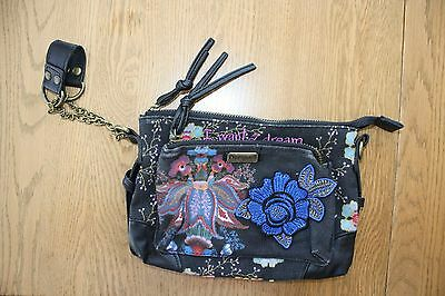 Desigual Wristlet Clutch Purse I Want A Dream