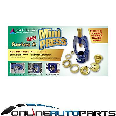 Ball Joint & Suspension Bush Mini Series 400 Portable Hand Press for Ford BA BF