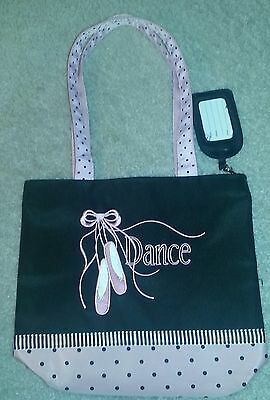 Girl's Ballet Dance Bag by Sassi Designs Embroidered