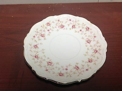 """Mitterteich Bavaria LADY CLAIRE China GERMANY 6"""" Saucer Plate"""
