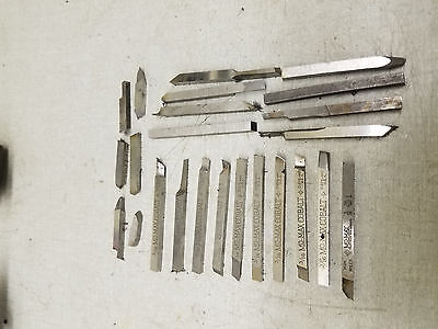 "Momax 3/16"" HSS tool bits all USA made"