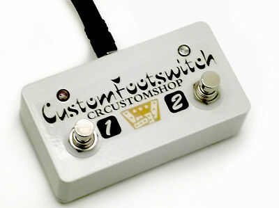 Cr® Custom Footswitch For Mesa Boogie Royal Atlantic Amplifier Hardwired Usa New