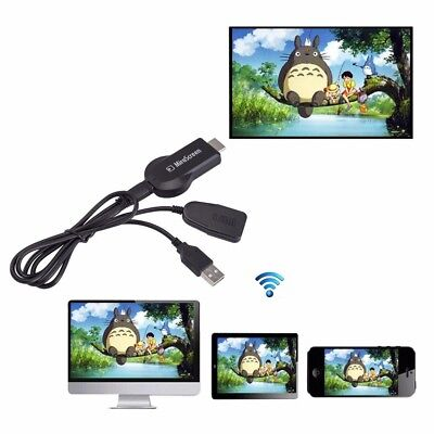 1080P HDMI AV Adapter Cable for connect Samsung Galaxy S8 / S8 Plus S7 to HD TV