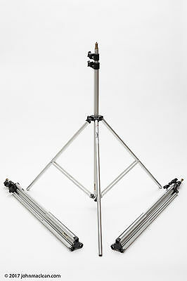 Bogen (Manfrotto) 3086 light stands - set of three (3) - Price Reduced