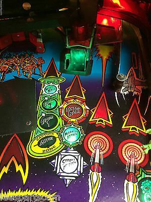 Stroke of Luck Lights for Revenge from Mars Pinball - Interactive with Game play