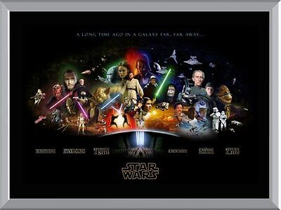 Star Wars Movies A1 To A4 Size Poster Prints