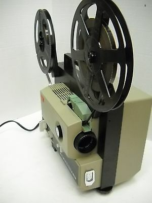 ELMO ST-180E Stereo Sound 2 TRACK SUPER 8mm PROJECTOR - Excellent!