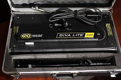 Kino Flo Diva Lite 400 with Case and Stand