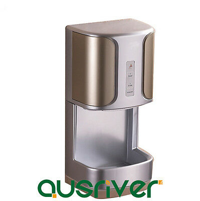High Speed Wall Mounted Automatic Hand Dryer Hotel Washroom Bathroom 2Y Warranty
