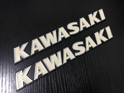 180mm Metal Emblem Decal Sticker For Kawasaki Fuel Gas Tank Fairing Motorcycle