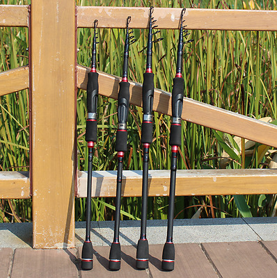 High-grade Stretch fishing pole -  Carbon Production, Ultra-light For Long Shot