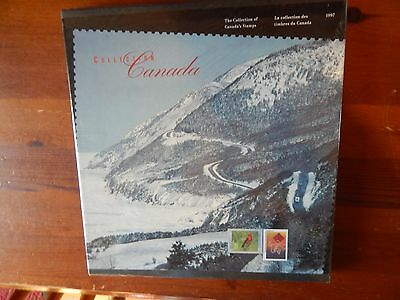 1997 Canada Year Book Unopened Still In Cellophane All Stamps Issued Unmounted
