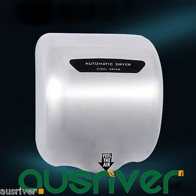 1800W Stainless Steel infrared Wall Mounted Automatic Hand Dryer Bathroom
