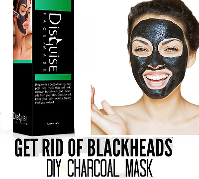 Black Mask Charcoal Purifying Blackhead Remover Acne Peel off Face Mask 60ml