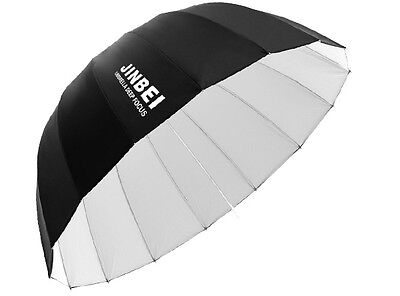 Jinbei Φ130cm Parabolic Black/White Deep Soft Reflector Umbrella 16 Rods
