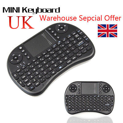 I8 2.4GHz Fly Air Mouse Mini Wireless Keyboard For Laptop PC Andriod Smat TV Box