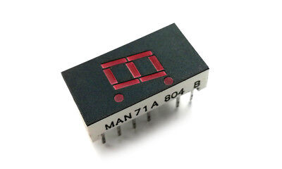 MAN71A Common Anode Red Led 7-Segment Display (1 pcs)