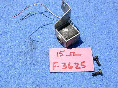 AMI G200 Toggle Solenoid Assembly F-3625 with Left Hand bracket 15 ohms