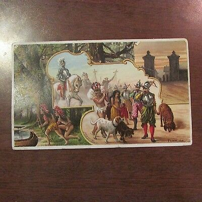 1892 Florida Arbuckle Brothers ARiosa Coffee Advertising Trade Card #12