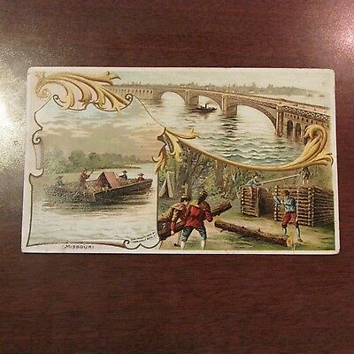 1892 Missouri #34 Arbuckle Brothers Ariosa Coffee Victorian Advertising Card