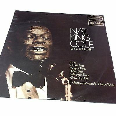 """Nat King Cole – Sings The Blues G *Clearance MFP 1277 Vinyl LP 12"""""""