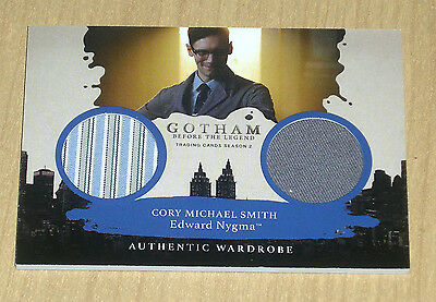 2017 Cryptozoic Gotham season 2 dual wardrobe Edward Nygma DM5