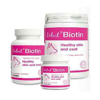 Dog Dolvit biotin For a Healthy Skin & Coat care Tablets Vitamin