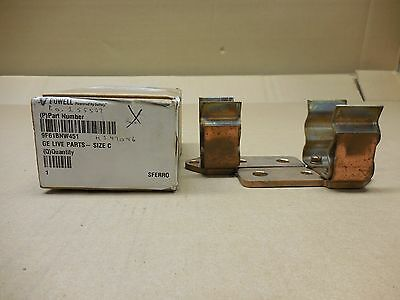 2 Nib Mersen  9Fs1Bnw451 Fuse Clips  Medium Voltage Sp 2 Inch Live Parts